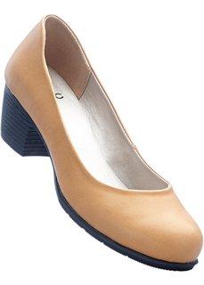 Туфли, широкая стопа (верблюжий) Bonprix