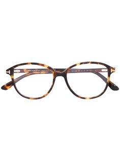 оптические очки в круглой оправе  Tom Ford Eyewear