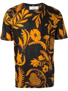 футболка с цветочным принтом Ami Alexandre Mattiussi