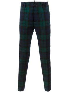 брюки в Шотландскую клетку Dsquared2
