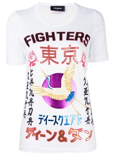 футболка Fighters Dsquared2