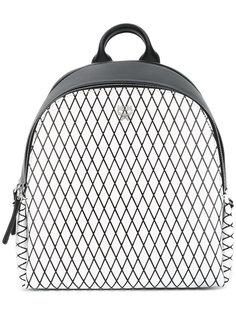 рюкзак с сетчатым принтом MCM