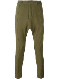 брюки с заниженной проймой Balmain