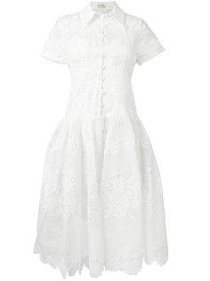 платье с вышивкой ришелье Winsome  Zimmermann