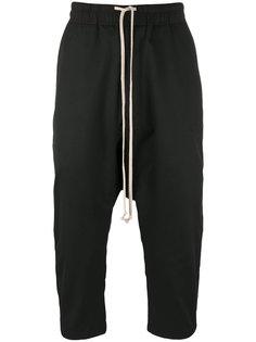 брюки с заниженной проймой Rick Owens DRKSHDW