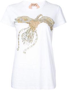 футболка с птицей из пайтоек Nº21
