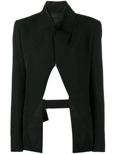 пиджак с открытой спиной Haider Ackermann