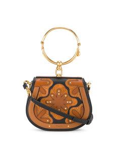 маленькая сумка Nile с пэтчворком Chloé