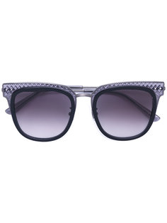 солнцезащитные очки-авиаторы Bottega Veneta