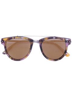 солнцезащитные очки в пятнистой оправе Bottega Veneta