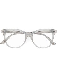 очки в прозрачной оправе Bottega Veneta Eyewear