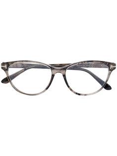 очки в оправе кошачий глаз Tom Ford Eyewear