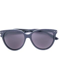 солнцезащитные очки в округлой оправе Bottega Veneta