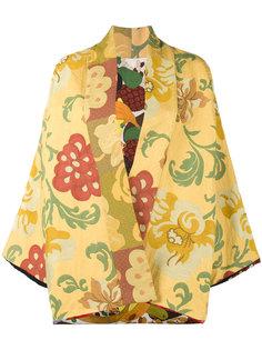 жакет-кимоно с цветочным узором Rianna + Nina