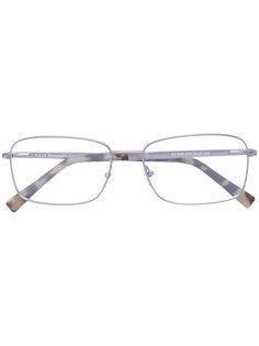 очки для зрения в прямоугольной оправе Ermenegildo Zegna