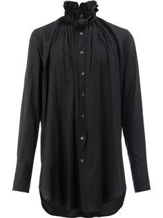 рубашка с воротником с оборками Ann Demeulemeester