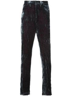 бархатные брюки Ann Demeulemeester
