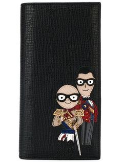 кошелек с заплаткой в форме дизайнеров Dolce & Gabbana