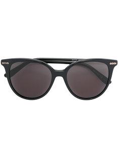 блестящие солнцезащитные очки Bottega Veneta