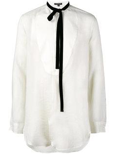 рубашка с горловиной на ленточной завязке Ellroy Ann Demeulemeester