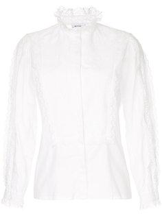 рубашка с кружевной отделкой Vilshenko