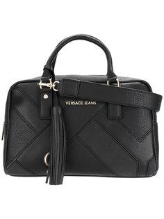 сумка-тоут с панельным дизайном и логотипом Versace Jeans