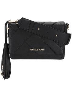 сумка с панельным дизайном и кисточкой Versace Jeans
