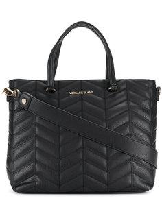 стеганая сумка-тоут Versace Jeans