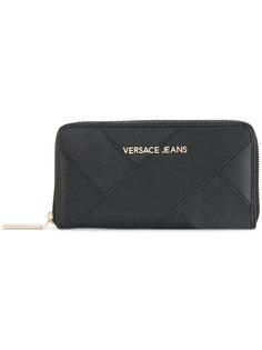кошелек на молнии Versace Jeans