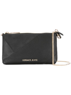 сумка на плечо с панельным дизайном Versace Jeans