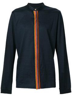 рубашка с контрастной полосой Paul Smith