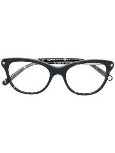 очки в оправе с эффектом черепахового панциря Balmain