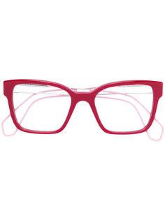 очки в оправе прямоугольной формы Miu Miu Eyewear