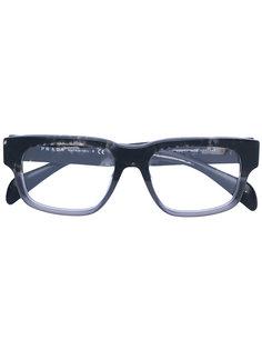 очки в оправе прямоугольной формы Prada Eyewear