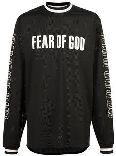 топ с логотипом Fear Of God