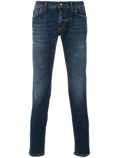 джинсы скинни с выцветшим эффектом Dolce & Gabbana