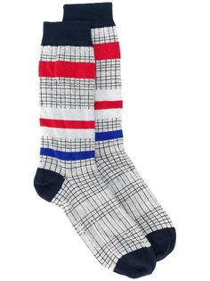 полосатые носки Henrik Vibskov