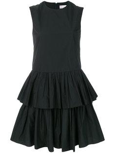 многослойное платье-мини Red Valentino