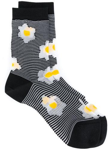 полосатые носки 'Flora' Henrik Vibskov