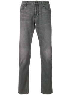 """джинсы узкого кроя с эффектом """"варенки"""" Emporio Armani"""