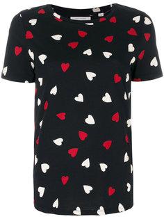 футболка с мелким принтом сердечек Chinti & Parker