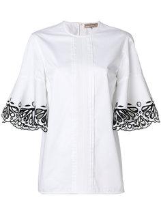 рубашка с вырезными деталями Emilio Pucci