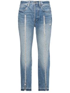 джинсы с молнией Le Original Frame Denim