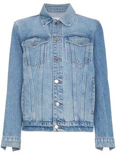 джинсовая оверсайз-куртка Le Jacket Frame Denim