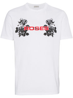 футболка с принтом Roses Dior Homme