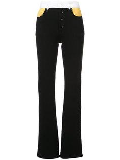 широкие брюки с полосатой отделкой Sonia Rykiel