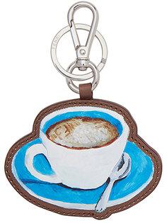 брелок для ключей с чашкой кофе Fendi