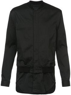 куртка-бомбер с рубашечной вставкой 3.1 Phillip Lim