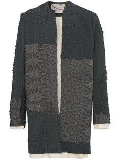 вязаное крючком пальто Alex By Walid