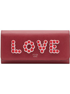 маленькая сумка на плечо с логотипом Fendi